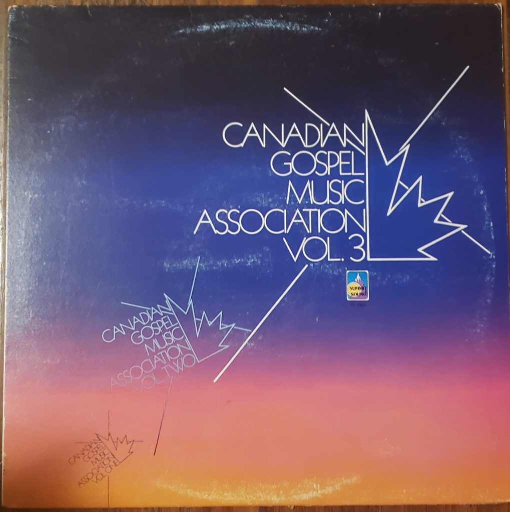 Front cover of the Canadian Gospel Music Association Vol. 3