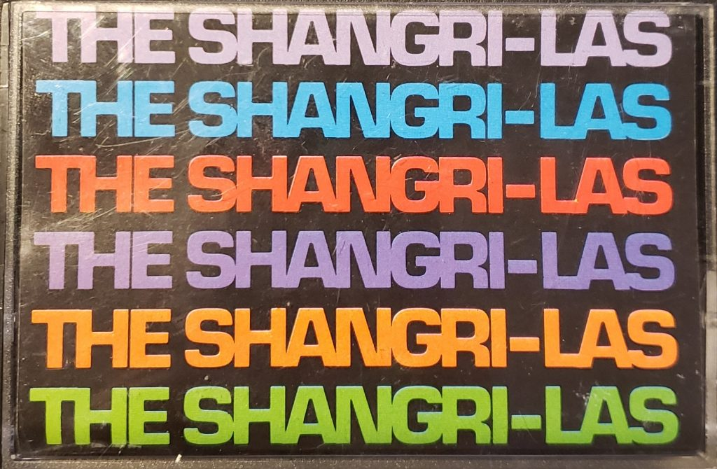 Cover of The Shangri-Las (Greatest Artist Series) Compact Cassette